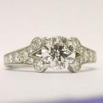 Cartier Diamond Ring 1.55ct GIA Certificated Ballerine