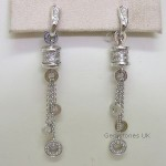 Bvlgari B Zero 1 Diamond 18ct Dropper Earrings