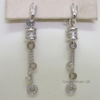 Bvlgari B Zero 1 Diamond 18ct Dropper Earrings