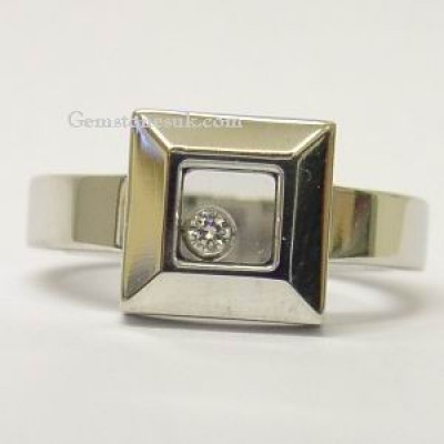 Chopard Happy Diamonds White Gold 82/2938-20 Ring