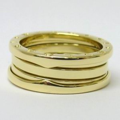 Bvlgari Signed B Zero 1 ring in 18ct yellow gold