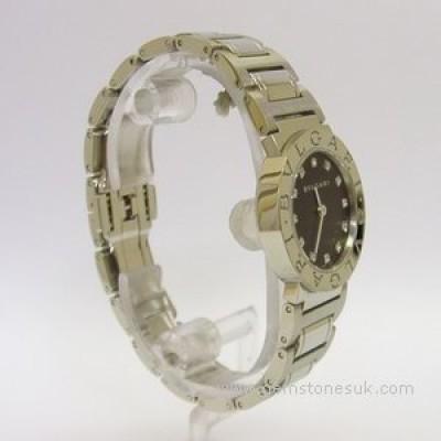Bvlgari B Zero 1 Ladies Steel Diamond Watch