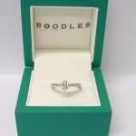 Boodles Platinum 0.70ct Diamond Solitaire Ring