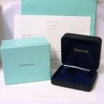 Tiffany 18K Pink Gold Full Diamond Metro Bangle