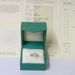 Boodles Platinum 1.02ct Diamond Certificated Solitaire Ring