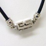 Cartier le baiser du dragon 18ct white gold pendant