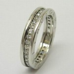 Bvlgari B Zero 1 diamond ring in 18ct white gold