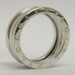 Bvlgari 18ct White Gold B Zero 1 Ring