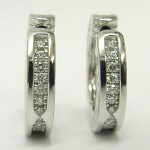 Bvlgari Diamond B Zero 1 Earrings 18ct White Gold