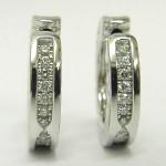 Bvlgari Diamond B Zero 1 Earrings 18ct White Gold