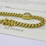 Chopard Happy Diamonds Bracelet set In 18ct Yellow gold
