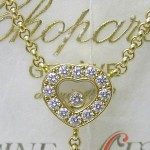 Happy Diamonds Chopard Pendant 18ct Yellow Gold