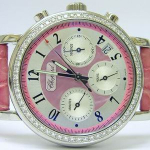 Diamond Chopard Mille Miglia Elton John Watch