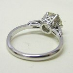 Antique 2.00ct Diamond Platinum Engagement Ring