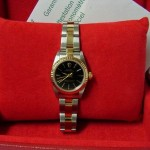 Rolex Steel & Gold Ladies 76193 Non Date Watch Box & Papers 2004