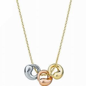 Tiffany 18ct gold elsa peretti eternal circle pendant aloadofball Images