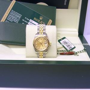 Rolex Lady Datejust 179173 Bi-Metal Diamond Watch