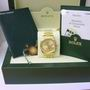 Rolex 18ct gold 116238 datejust watch b/p 2005