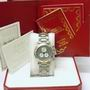 Cartier steel pasha chronograph gents watch