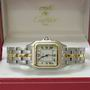 Cartier panthere Midi-size 1 row 18ct/steel watch