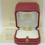 Cartier 18ct Gold Diamond Maillon Panthere Ring