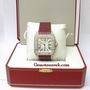 Cartier Santos 100XL Steel & Diamond Auto Watch