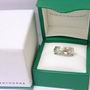 Boodles 18ct White Gold Square Diamond Ring