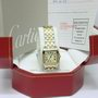 Ladies Cartier Santos Demoiselle steel & gold watch