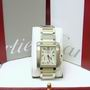Cartier W51025Q4 Francaise Bi-metal chronoflex watch