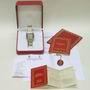 Mint 2 row gents 18ct & steel cartier panthere watch