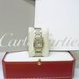 Cartier Tank Francaise Bi-metal Quartz watch B/P