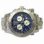 Breitling emergency stainless watch B/Papers 2003