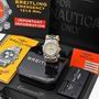 Breitling B73321 Emergency Steel & Gold watch B/P