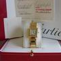 Ladies 18ct cartier Tank Francaise watch W50002N2