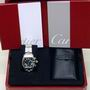 Cartier Roadster Watch Steel chrono W62020X6