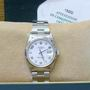 Rolex 15200 steel oyster date watch b/papers mint