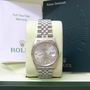 Rolex 16234 diamond datejust Gents steel watch