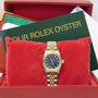 Rolex 76193 Steel & Gold ladies diamond watch B/P