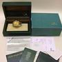 Rolex 15238 date 18ct gold oyster watch B/P