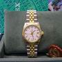 Mid-size rolex steel & gold 68273 datejust watch