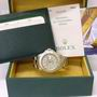 Rolex yachtmaster 16622 s/steel platinum watch B/P